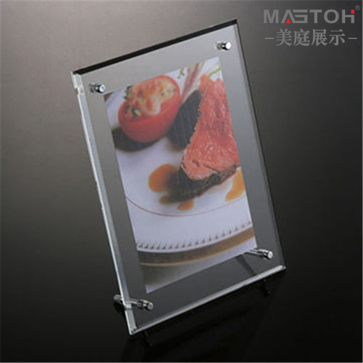 SGS-FDA-certified-custom-clear-acrylic-photo-frame