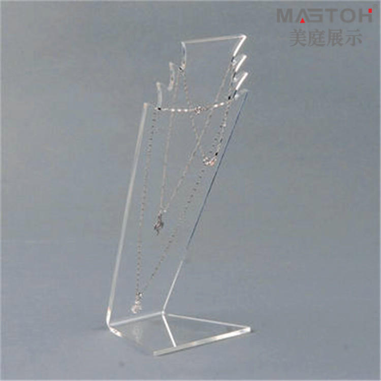 Clear-acrylic-jewelry-display-stand
