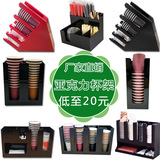 Cup display display stand acrylic red black plastic cup holder PS material injection molding tea sho