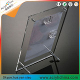 Acrylic table photo frame table sign